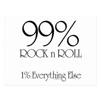Rollo de la roca n del 99% tarjetas postales