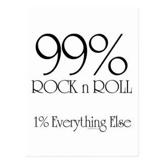 Rollo de la roca n del 99% postales