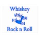 Rollo de la roca n del whisky postal