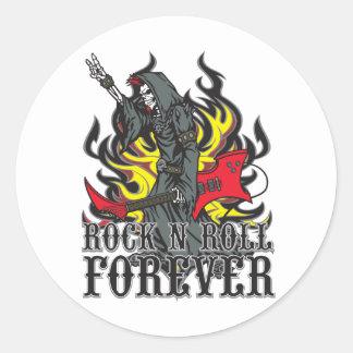 Rollo de la roca N para siempre