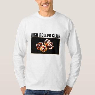 rollo de los dados - camiseta del club del gran playera