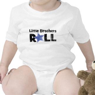 Rollo de los pequeños hermanos traje de bebé