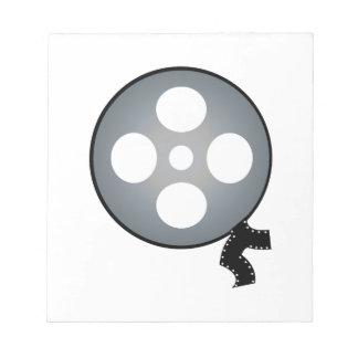 Rollo de película blocs de notas
