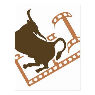 Rollo de película Bucking de Bull Postales