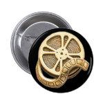 Rollo de película del oro del OPUS Pin Redondo 5 Cm