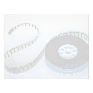 rollo de película en blanco de 35m m membrete personalizado