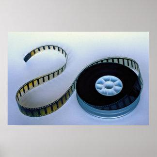 rollo de película en blanco de 35m m impresiones