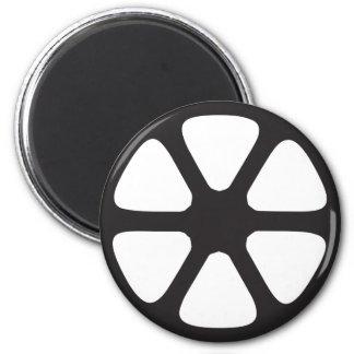 Rollo de película imán redondo 5 cm