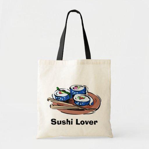 Rollo de sushi bolsas
