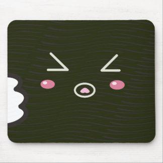 "Rollo de sushi de Kawaii ""primer "" con Bitemark Tapete De Ratones"
