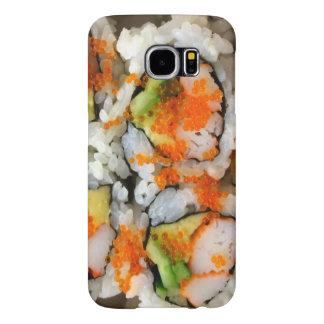 Rollo de sushi fundas samsung galaxy s6