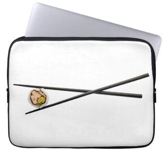 Rollo de sushi y palillos - plantilla modificada mangas portátiles