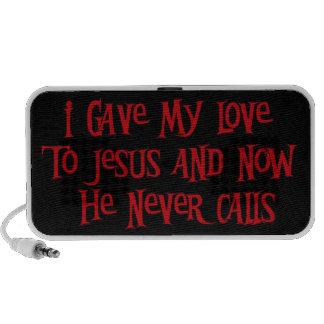 Rollo de una noche Jesús iPod Altavoces