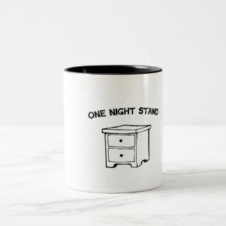 Rollo de una noche taza de dos tonos