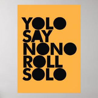 Rollo de YOLO llenado a solas Impresiones