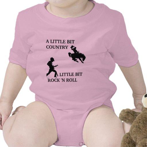 rollo del country rock n traje de bebé