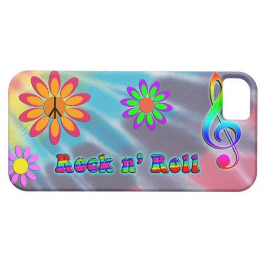 Rollo del n de la roca iPhone 5 Case-Mate cárcasas