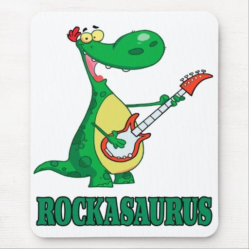 rollo Dino dinosaur.ai de la roca n del rockasauru Alfombrilla De Raton