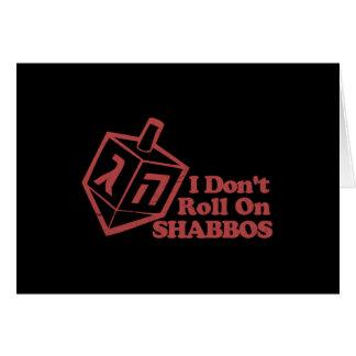 Rollo Shabbos de Draddle Felicitación