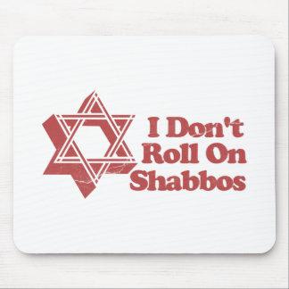 Rollo Shabbos del judaísmo Tapetes De Ratones
