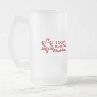 Rollo Shabbos del judaísmo Tazas De Café