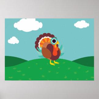 Rollo the Turkey Poster