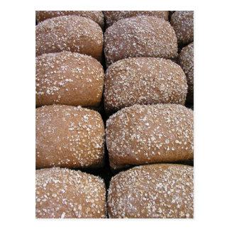 Rollos de pan de Brown Tarjetas Postales