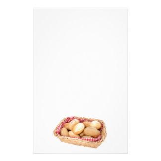 Rollos de pan fresco papelería personalizada