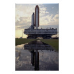 Rollout of Space Shuttle Columbia (STS-55) Poster