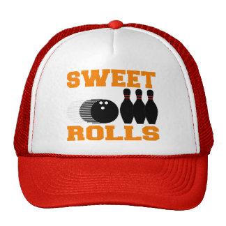 Rolls dulce que rueda gorras