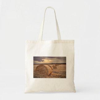 Rolls of Hay Tote Bag
