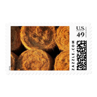 Rolls of Hay Postage Stamp