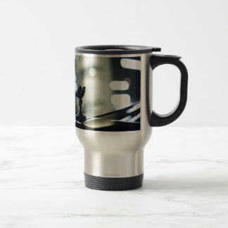 Rolls Royce luxury to car AT night in street photo Travel Mug