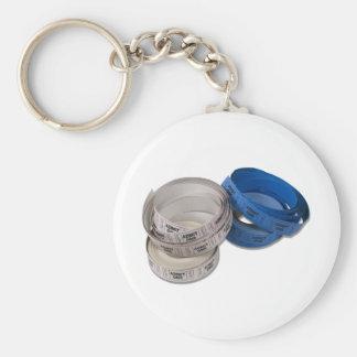 RollTickets081210 Basic Round Button Keychain