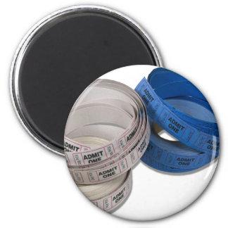 RollTickets081210 2 Inch Round Magnet