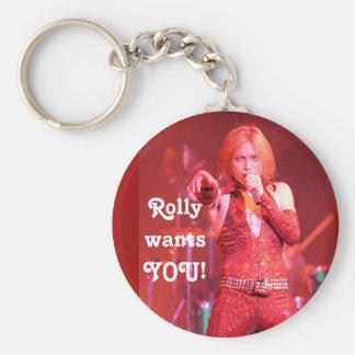 Rolly clubX Keychain