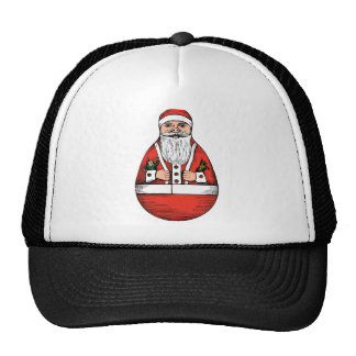 Rolly Polly Santa Toy Trucker Hat