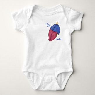 Roly Poly Balloon Man Shirt pocket