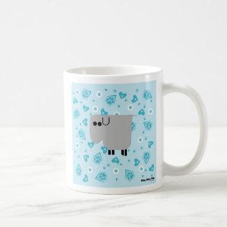 Roly Poly Dog Coffee Mug