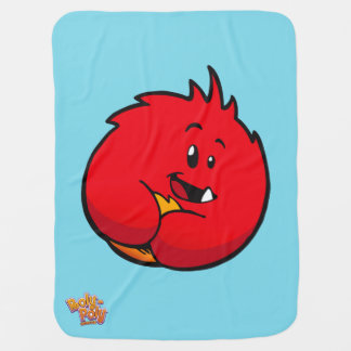 Roly-Poly Monster Baby Blanket