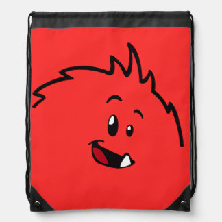 Roly-Poly Monster Drawstring Backpack