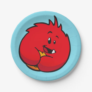 Roly-Poly Monster Paper Plates