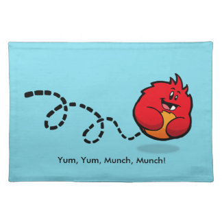 Roly-Poly Monster Placemat