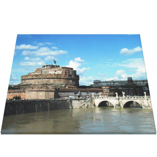 Rom Stretched Canvas Print