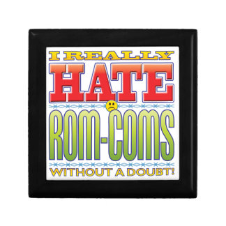 Rom-Coms Hate Face Jewelry Boxes