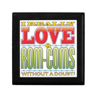 Rom-Coms Love Face Keepsake Box