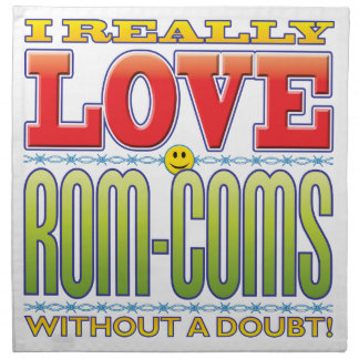 Rom-Coms Love Face Napkin
