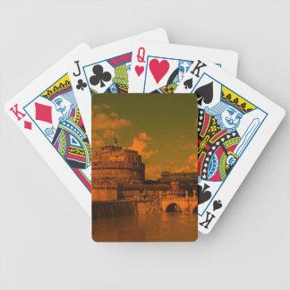 rom, dramatic light poker deck