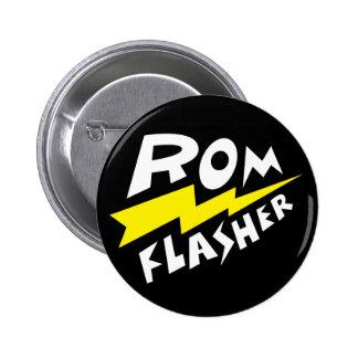 ROM Flasher 2 Pinback Button