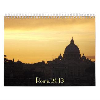 Roma 2013 calendarios de pared